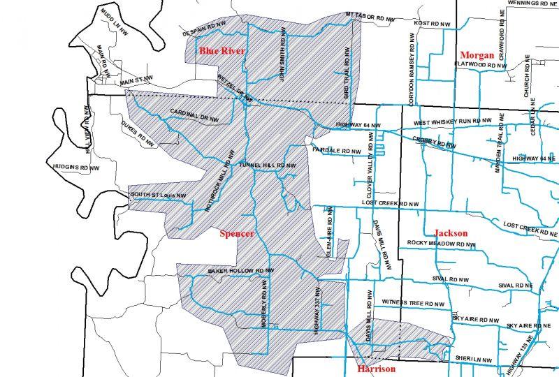 Zone B Map | Ramsey Water Company Inc